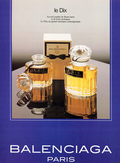 Balenciaga Anciennes Originales Parfums — Publicités R543AjL