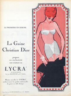 7d0d801fb Christian Dior — Lingerie — vintage French original adverts