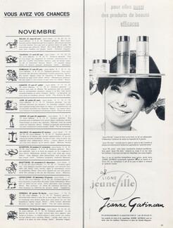 Publicite 1973 Jeanne Gatineau Cosmétiques Cremes Maquillage Collectibles