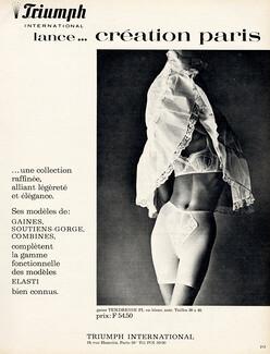 b5a128955 Triumph — Lingerie — vintage French original adverts