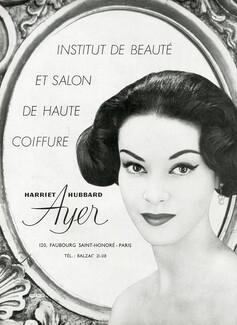Publicite Advertising 1972 Harriet Hubbard Ayer Cosmétiques Flor Collectibles