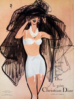 405fcbc6b Christian Dior (Lingerie) 1960 René Gruau (Version B) Gorge D64