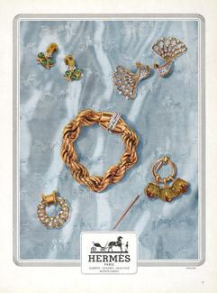 f9ce1367494b Hermès (Jewels) 1948 Broche, Bracelet, ...