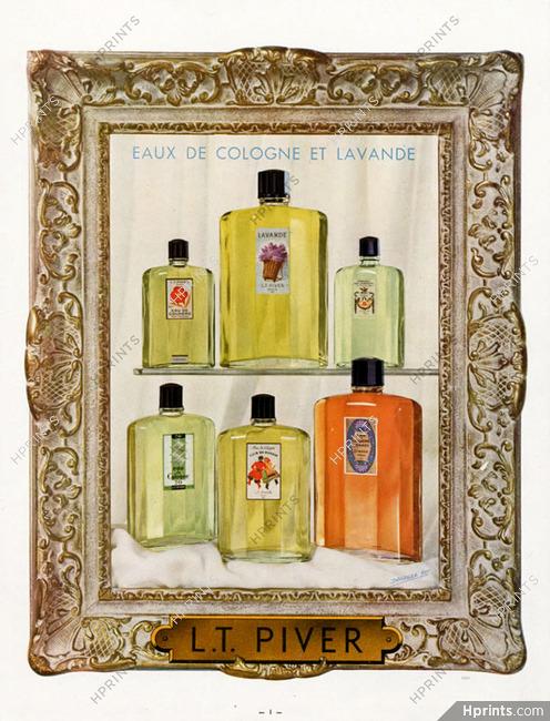 piver 1948 eau de cologne lavande illustr par non. Black Bedroom Furniture Sets. Home Design Ideas