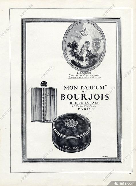 Bourjois 1923 Mon Parfum Angel Perfumes Vintage French Original