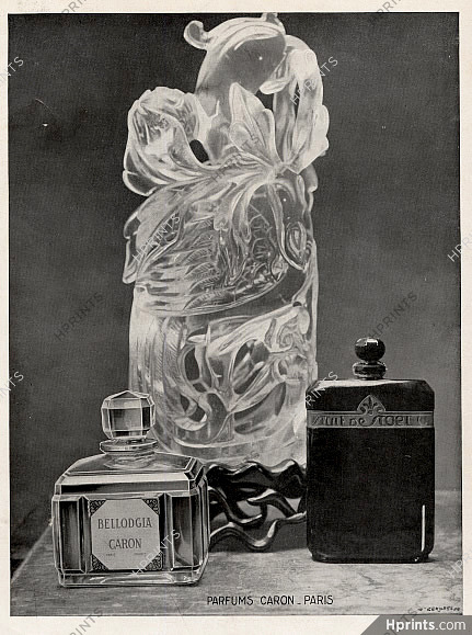 NoëlBellodgia De Publicité Parfums Caronperfumes1930 — Nuit LqGMjUzpVS