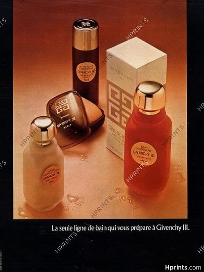 Givenchyperfumes1974 Parfums Iii Ancienne — Publicité ymnNvO80w