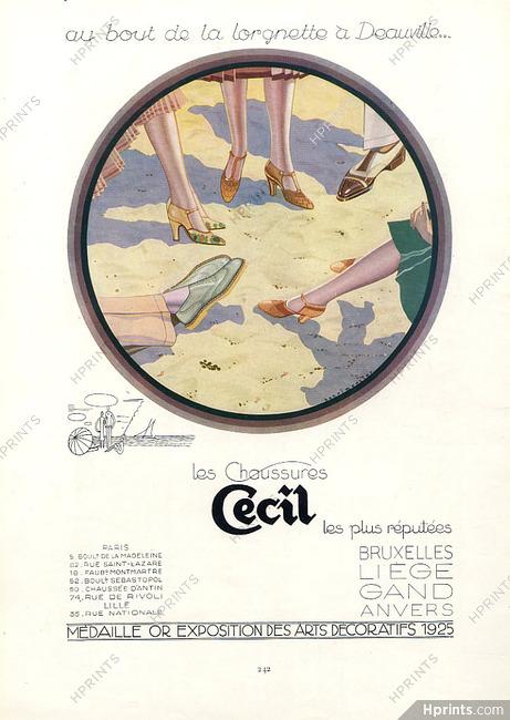 dirt cheap detailing online for sale Cecil (Shoes) 1926 Henri Mercier, Deauville — Women's shoes ...