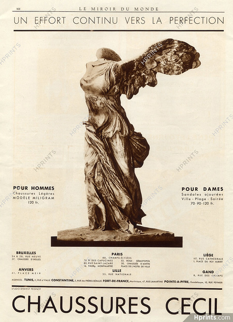 official cheap for discount new arrive Cecil (Shoes) 1933 Victory of Samothrace, Classical ...