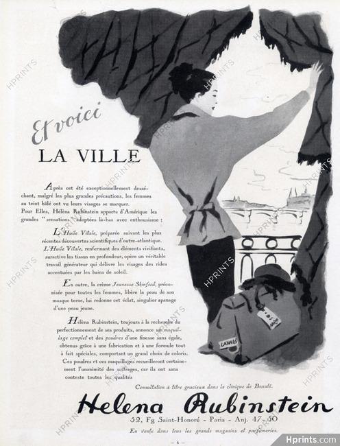 Helena Rubinstein (Cosmetics) 1947 — Cosmetics — vintage