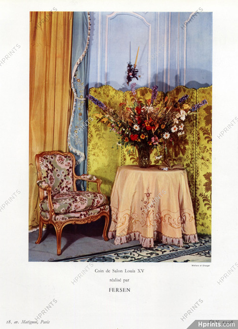 Fersen (Decorative Arts) 1956 Salon Louis XV — Decorative ...