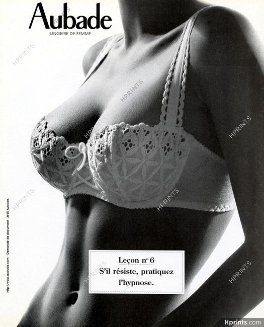 the cheapest good huge sale Aubade 1994 Leçon n°6 Vanessa Demouy — Advertisements