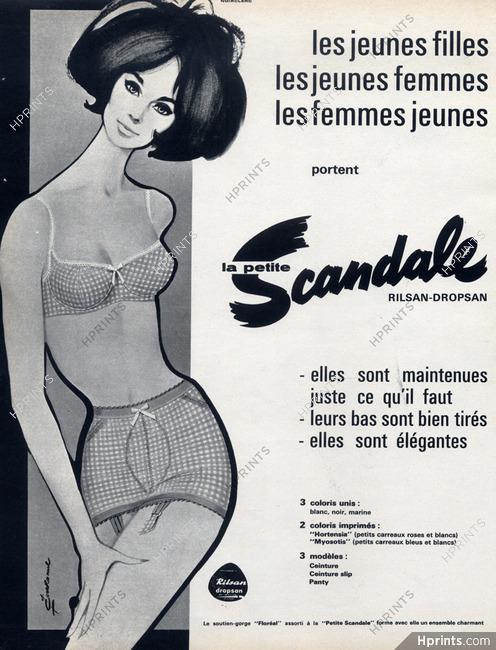e38623bbae3 Scandale (Lingerie) 1964 Girdle