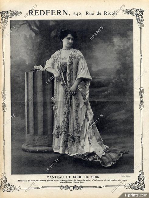 Redfern 1908 Evening Gown   Coat 184d6b5f9