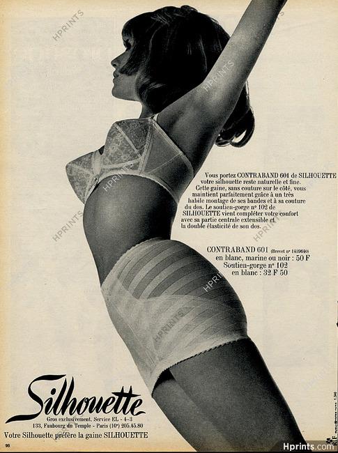 de63bbebfd50a Silhouette 1968 Girdle, Brassiere photography by -- non-identifié ...