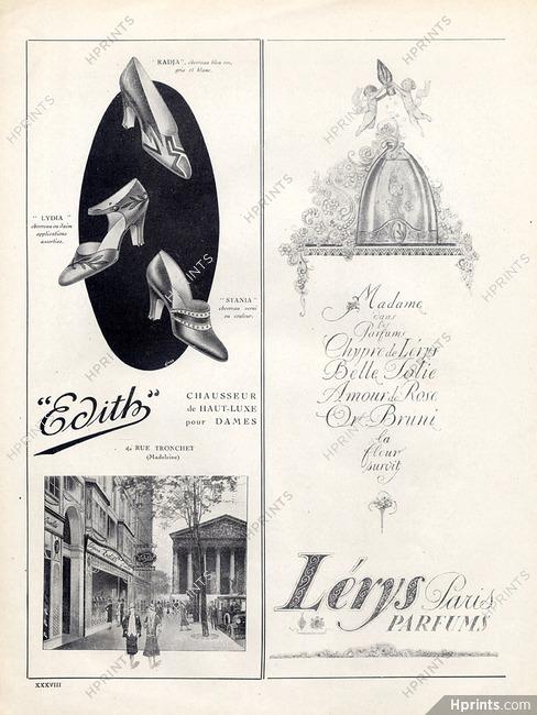 Lerys Perfumes 1925 Chypre Belle Jolie Amour De Rose Or