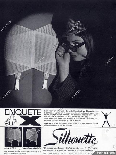 0b614787c5f9f Silhouette (Lingerie) 1964 Girdle — Lingerie — vintage French ...