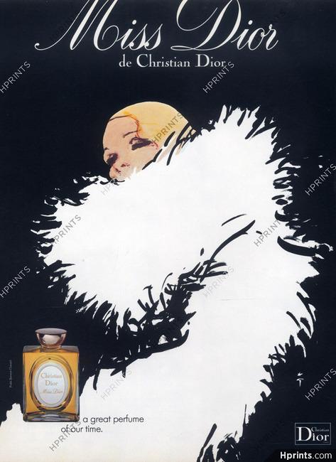 Christian Dior (Perfumes) 1978 René Gruau, Miss Dior