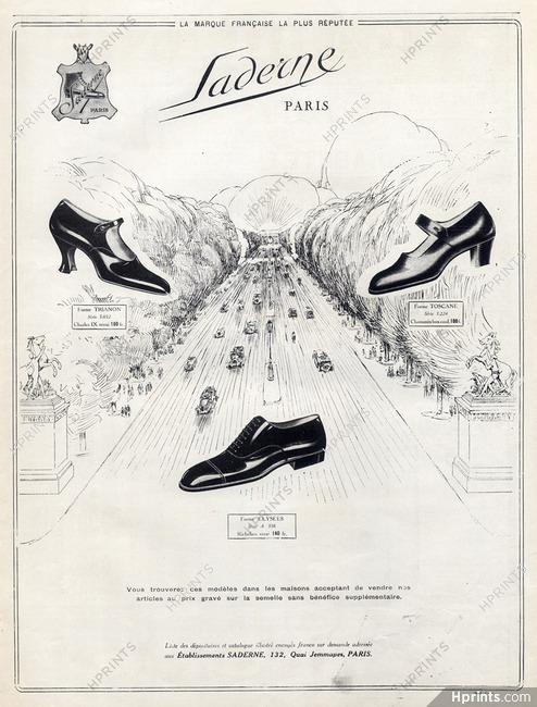 Publicité Champs Saderneshoes1924 — Chaussures Femme Elysées b7gyYfv6