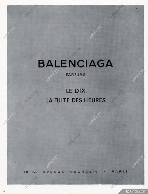 Le Des Parfums DixLa — Heures Balenciagaperfumes1950 Fuite lKF1Jc