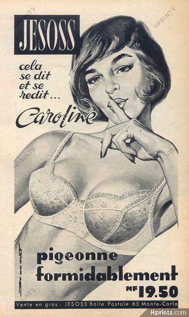 193103c510 Jesoss (Lingerie) 1961 Bra