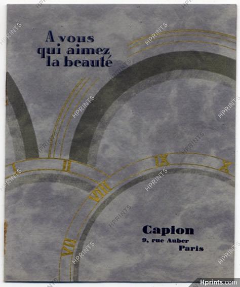 nouveau style et luxe style à la mode nouveau produit Vulcain (Watches) 1928 Capion, Catalog 8 Pages — Montres ...