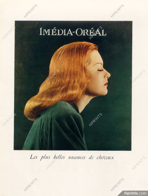L Oreal Cosmetics 1945 Imedia Dyes For Hair Hairstyle Hair