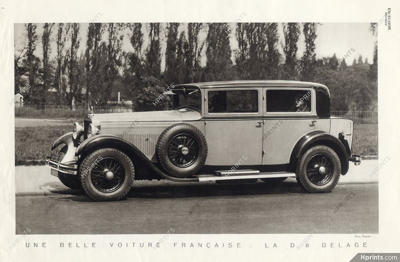 Delage (Cars) 1930 — Automobiles