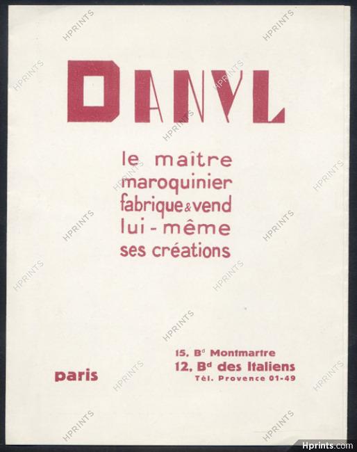 Danyl (Leather Good) 19   Leaflet, Handbag, Traveling Clock