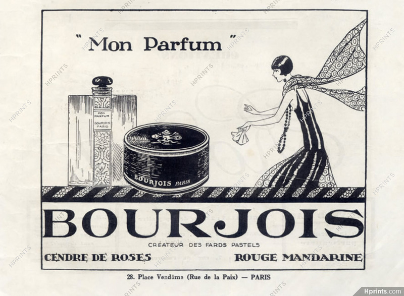 Bourjois Perfumes 1927 Mon Parfum Perfumes Vintage French