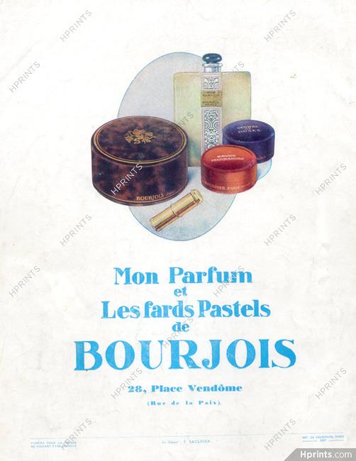Bourjois 1927 Lipstick Mon Parfum Cosmetics Vintage French
