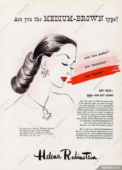 Helena Rubinstein (Cosmetics) 1945 — Cosmetics — vintage