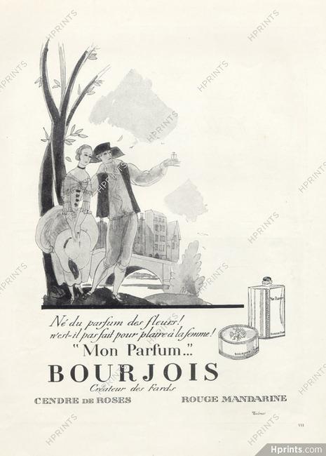 Bourjois Perfumes 1924 Mon Parfum Perfumes Vintage French