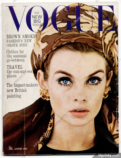 b61dfd1a0cf4a UK Vogue British Magazine 1963 August, David Bailey, The height of ...