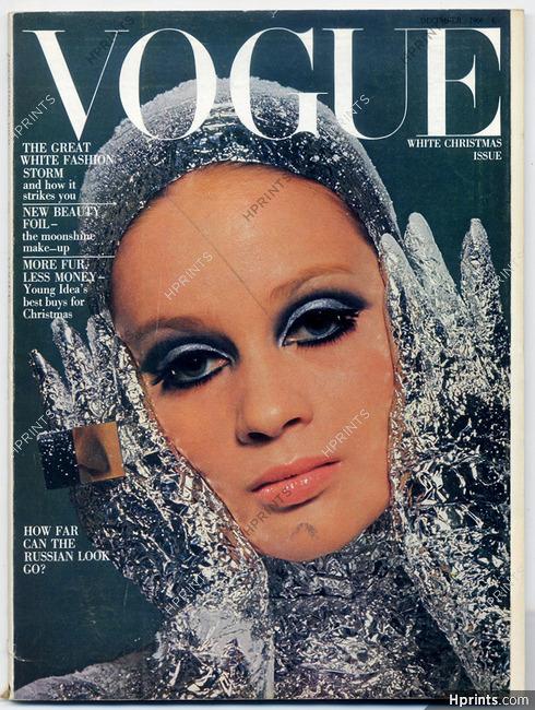 UK Vogue British Magazine 1966 December, Photo David Bailey, Bert Stern, Helmut Newton