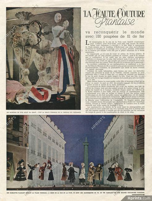 Kết quả hình ảnh cho haute couture 1945
