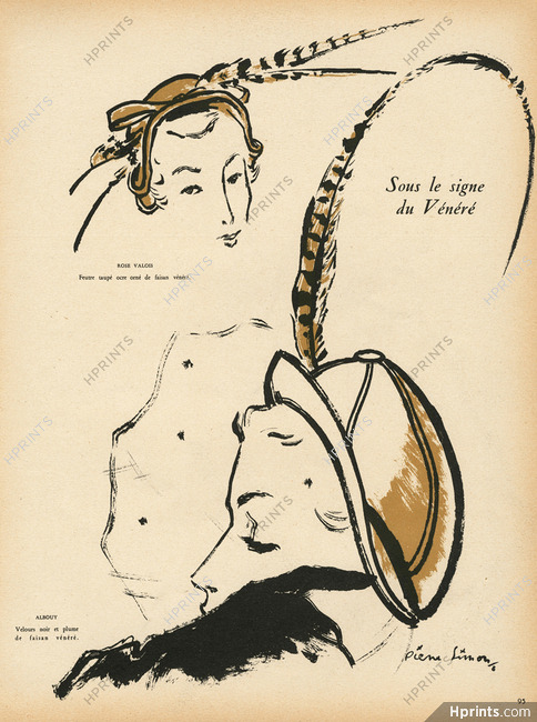 exquisite style save up to 80% super specials Pierre Simon 1948 Rose Valois, Albouy, Fath, Lanvin ...
