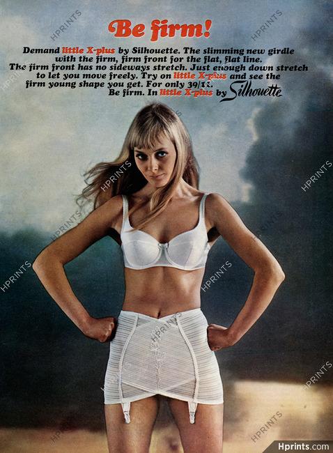 92931deeddf3d Silhouette (Lingerie) 1967 — Lingerie — vintage French original advert