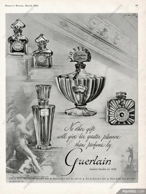 Guerlain 1951 Fleur De Feu Mitsouko Shalimar Vol De Nuit L Heure