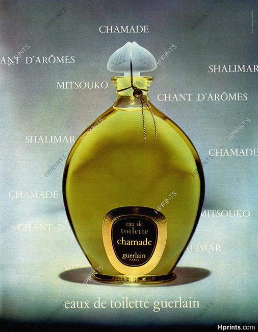 — Chamade Parfums Ancienne Publicité Guerlainperfumes1972 htrdCoxsQB