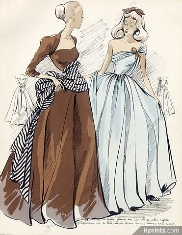 3cc0b335b7d9 Inspirations Summer 1947 Dresses